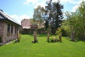 Ferienhaus Born Ostsee Garten